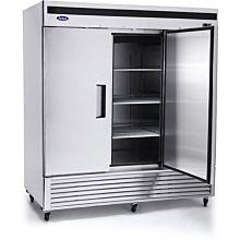 """Atosa MBF8504 82"""" 3 Solid Door Reach-In Freezer"""