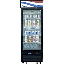 """Atosa MCF8722GR 27"""" 1 Swing Glass Door Merchandiser Refrigerator"""