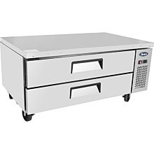 "Atosa MGF8451GR 52"" 2 Drawer Refrigerated Chef Base"