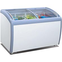 "Atosa MMF9109 40"" 2 Sliding Glass Door Ice Cream Freezer"