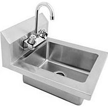 "Atosa MixRite MRS-HS-14 14"" Stainless Steel Wall Mounted Hand Sink"