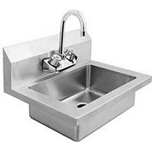 "Atosa MixRite MRS-HS-18 18"" Stainless Steel Wall Mounted Hand Sink"
