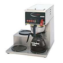 Grindmaster B-3WL Single Coffee Brewer w/ (3) Lower Warmers, Pour Over, 120/240v/1ph
