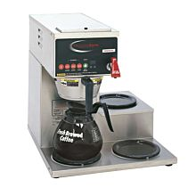 Grindmaster B-3WR Single Coffee Brewer w/ (3) Lower Warmers, Pour Over, 120/240v/1ph