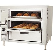Bakers Pride GP-61 Dual Deck Pizza Oven, Gas