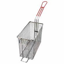 "Cecilware 08021L Fryer Basket w/ Uncoated Handle & Rear Hook, 8.875"" x 4.1"" x 6.625"""