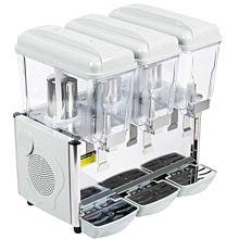 """Coldline BD35-PUMP 25"""" Triple Bowl Beverage Dispenser, Drink Bubbler with Pump Spray System"""