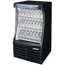 Beverage-Air BZ13-1-B 30 inch Black Breeze Open Refrigerated Display Case
