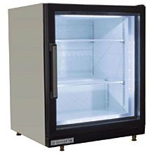 "Beverage Air CF3HC-1-W 23.75"" One-Section Display Freezer w/ Swinging Door - Rear Mount Compressor, Black, 115v"