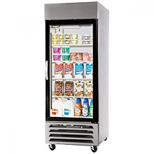 Beverage-Air HBF27-1-G Horizon Series 30 inch Glass Door Reach-In Freezer with LED Lighting