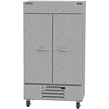 Beverage-Air HBF44-1-S 47 inch Horizon Series Two Section Solid Door Reach in Freezer with LED Lighting