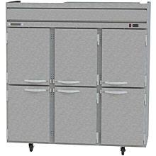 Beverage-Air HF3-5HS Horizon Series 78 inch Solid Half Door Reach-In Freezer