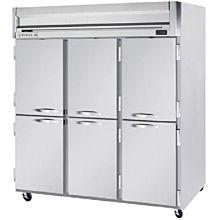 Beverage-Air HFP3-5HS Horizon Series 78 inch Solid Half Door Reach-In Freezer