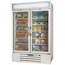 Beverage Air MMF49-1-W, 2 Swing Glass Door Merchandiser Freezer