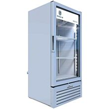 Beverage-Air MT10-1W 25 inch Marketeer Series White Refrigerated Glass Door Merchandiser with LED Lighting