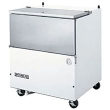 Beverage-Air SM34N-W 34 1/2 inch White 1-Sided Cold Wall Milk Cooler