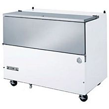 Beverage-Air SM49N-W 49 1/2 inch White 1-Sided Cold Wall Milk Cooler