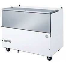 Beverage-Air SM58N-W 58 1/2 inch White 1-Sided Cold Wall Milk Cooler
