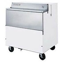Beverage-Air SMF34HC-1-S 34 inch Stainless Steel 1-Sided Forced Air Milk Cooler