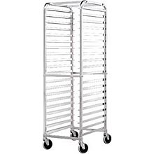 BK Resources BK-ABPR-2 Knocked Down Aluminum Pan Rack - Holds 20 Pans