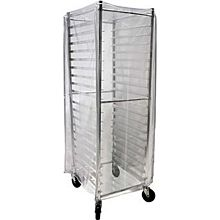 BK Resources BK-ABPR-CVR1 Heavy Duty Clear Plastic Bun Pan Rack Cover