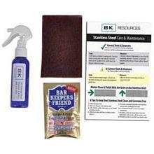 BK Resources BK-SS-CAREKIT Stainless Steel Cleaner Maintenance Mini Kit