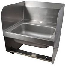 """BK Resources BKHS-D-1410-1-BKK 14""""W Wall Mount Hand Sink without Faucet"""