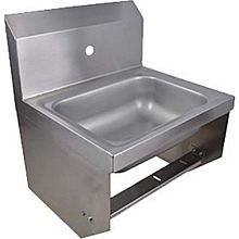 """BK Resources BKHS-W-1410-1-BKK 14""""W Wall Mount Hand Sink without Faucet"""