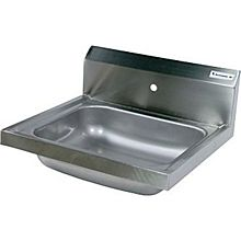 "BK Resources BKHS-W-1620-1 20""W Wall Mount Hand Sink without Faucet"