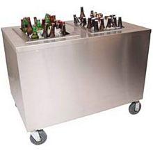 "BK Resources PBC-3048 48""W x 30""D Portable Stainless Steel Beverage Center"