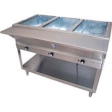 "BK Resources STE-3-120 44"" (3 Well) 120v Electric Steam Table"