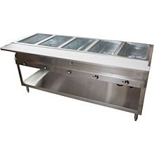 "BK Resources STE-5-120 72"" (5 Well) 120v Electric Steam Table"