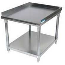 "BK Resources VETS-1530 Economy 15"" x 30"" Stainless Kitchen Equipment Stand"