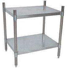"BK Resources VSU3-3124 31""Wx24""Dx38""H Galvanized Steel Dry Storage Shelving Unit"