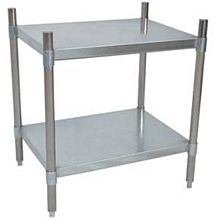 "BK Resources VSU3-4324 43""Wx24""Dx38""H Galvanized Steel Dry Storage Shelving Unit"