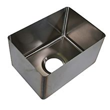 "BK Resources BKFB-1824-14-14 18"" x 24"" x 14"" One Compartment Stainless Steel Weld-In Sink"
