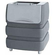 """Brema BIN240PE 37"""" 529 lb. Ice Storage Bin, Polyethylene Exterior"""
