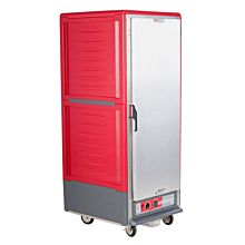 "Metro C539-HFS-4 27"" Full-Size Insulated Red Solid Door Heated Holding Cabinet"