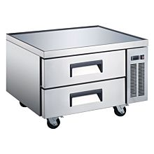 "Coldline CB-36-HC 36"" Two Drawer Refrigerated Chef Base"
