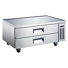 "Coldline CB-52-HC 52"" Two Drawer Refrigerated Chef Base"