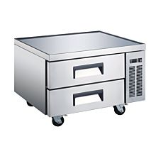 "Universal CBI-36 36"" Two Drawer Refrigerated Chef Base"