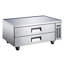 "Universal CBI-52 52"" Two Drawer Refrigerated Chef Base"