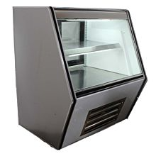 """Global CDC36 36"""" Refrigerated (Counter Height) Deli Display Case"""