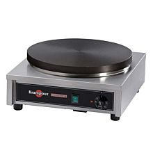 Krampouz CECIF4 17 inch x 18 inch Electric Cast Iron Crepe Maker, 3750W, 240V