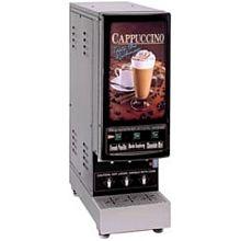 Cecilware 3K-GB-NL 3 Flavor Cappuccino Machine w/ (3) 4 lb Hoppers, 120v (non lit door)