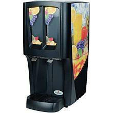 """Cecilware C-2S-16 12.5"""" G-Cool Pre-Mix Cold Beverage Dispenser w/ (2) 2.4 gal Bowls, 120v"""