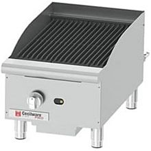"Cecilware CCP15 15"" Countertop Gas Charbroiler w/ Cast Iron Grates, (1) Burner"