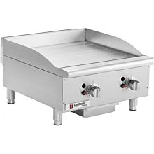 "Cecilware CE-G24TPF 24"" Gas Griddle - Thermostatic, 1"" Steel Plate"