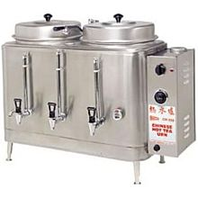 Cecilware CH100N Twin Chinese Hot Tea Urn w/ (2) 3 gal/Liners, 120/240v/1ph