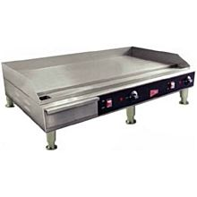 """Cecilware EL1636 36"""" Electric Griddle - Thermostatic, 1/2"""" Steel Plate, 240v/1ph"""